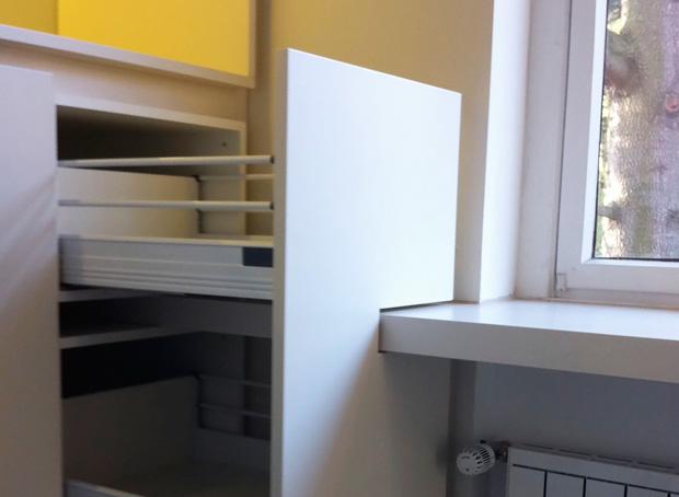 Weisse Schrankwand - Domius Möbelkonzepte
