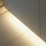Flur Garderobe mit Beleuchtung