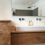 Badezimmermöbel Holz Waschtisch Eiche