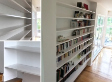 Bücherregal Weiß Wohnzimmer